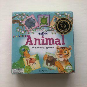 eeBoo Pre School Animal Memory Game 10 Pairs